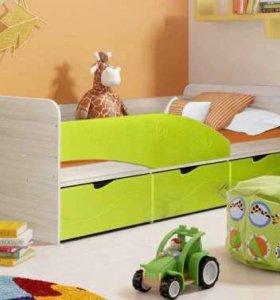 Детская кровать Бриз-3 диал