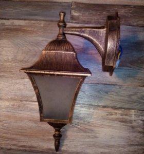 Светильник бра фонарь антик