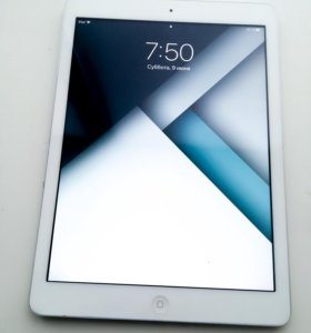 iPad Air 16 gb серый