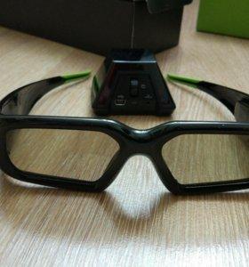 очки 3d nvidia p854