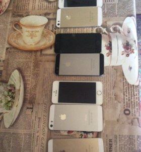 Айфоны 5s на запчасти
