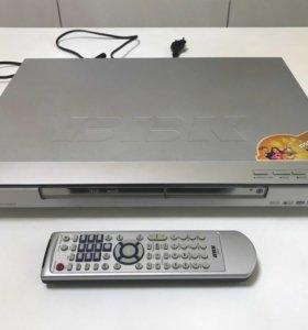 DVD плеер, записывающий