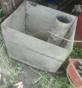 Кател в баню под горячую воду!из нержевейки