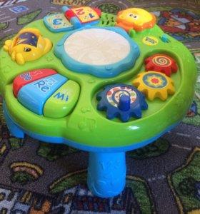 Музыкальный игровой развивающий столик