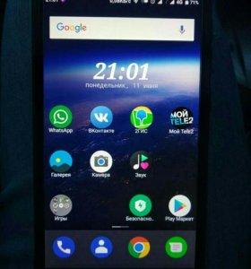 Смартфон Xiaomi Redmi 4 (16/2) серебристый