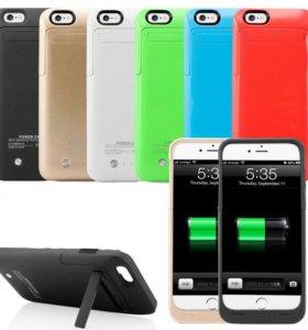 Чехол аккумулятор для телефона IPhone 6 6S 7