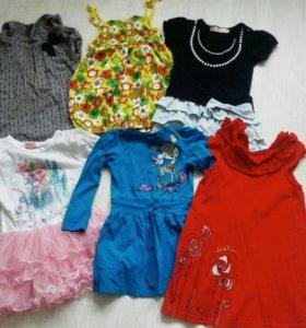 Вещи для девочки 3-5 лет пакетом