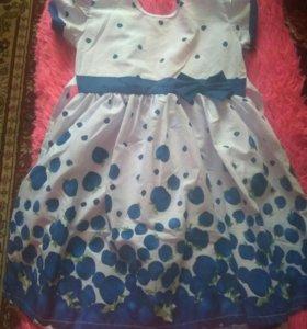 Платье на девочку. Новое