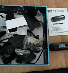 Экшен-камера bullet HD2