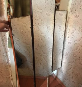 Зеркала(основное + 2 створки)