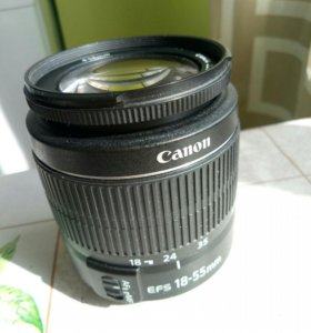 Объектив Canon 18-55mm
