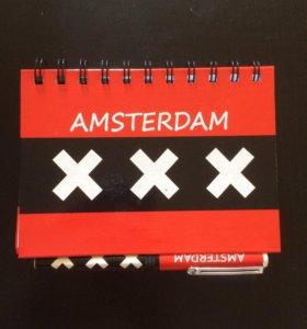 Блокнот ( сувенир ) Amsterdam