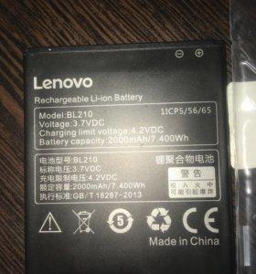Батарейка на леново