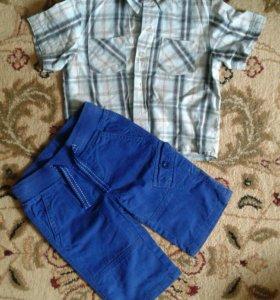 Рубашка и бриджи