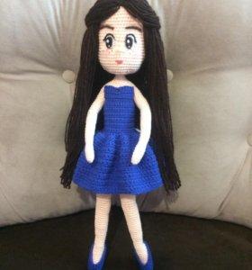 Каркасная кукла-балерина
