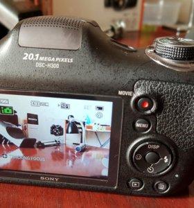 Фотоаппарат sony DSC-H300, 20.1 Мпикс СРОЧНО
