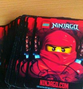 Карточки LEGO NINJAGO