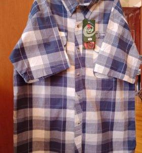 Рубашка мужская с коротким рукавом.