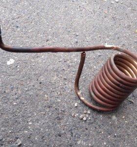 Медная спираль-змеевик обогревающий