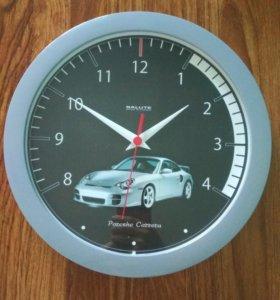 Часы настенные, диаметр 28 см