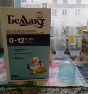"""Продам молочную смесь """"Беллакт"""" от 0 до 12 месяцев"""