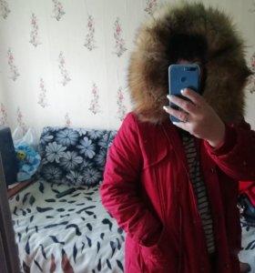 Зимняя парка, и осеннее пальто
