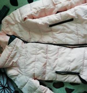 Куртка на худенькую даму