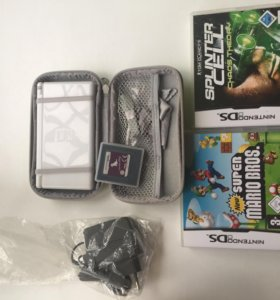 Nintendo DS lite + Super Mario Bros +splinter sell