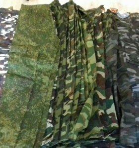 Новые брюки камуфляж