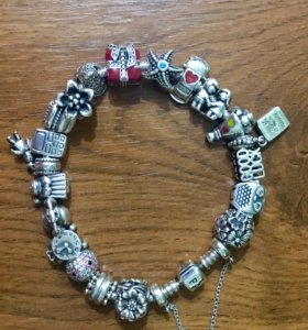 Браслет Pandora, серебро 925