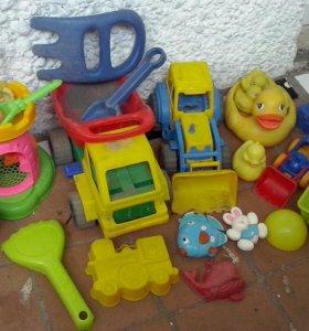 песочные игрушки пакетом