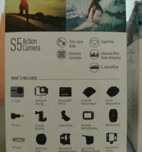 Новая экшн камера Ezviz S5