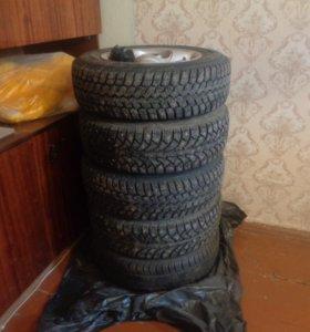 Комплект колес литье R13 4х100