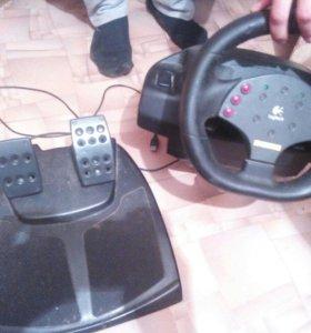 Игровой руль Logitech