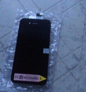 Дисплей тач на iPhone