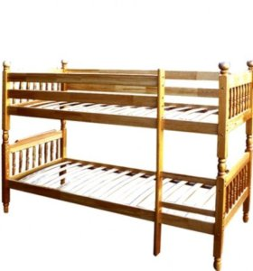 Дер, двухъярусная кровать.