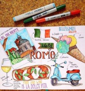 Итальянский язык для начинающих 🇮🇹