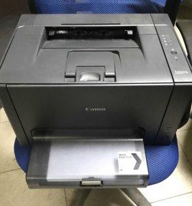 Принтер Canon LBP7018C - лазерный - цветной
