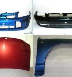 Оптика и Кузовные запчасти на Lada ВАЗ новые цвет