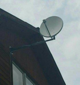 Установка цифровых, эфирных, спутниковых антенн