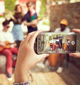 Samsung Galaxy S6 Edge (оригинал, золотой)