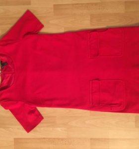 Красное платье на каждый день .