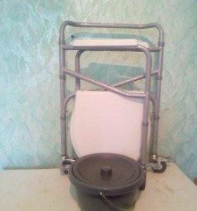 Кресло-туалет для инвалида