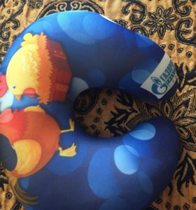 Подголовник детский с логотипом Газпром новый