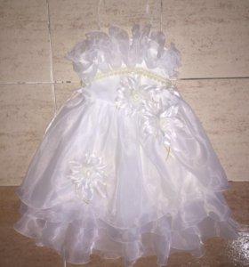 Детское платье 7-8 лет