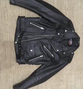 Косуха и кожаные штаны
