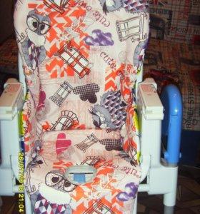 одно и двухсторонние чехлы на стулья для кормления