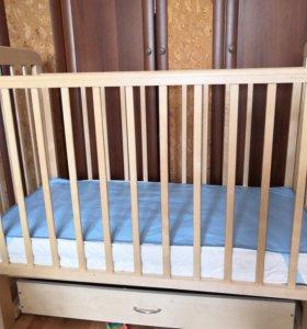 Кроватка детская б/у