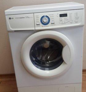 Продам стиральную машинку LG WD10160S 3.5 к.г