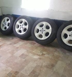Колеса зимние r14.